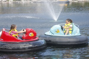 bumper boats for the kids
