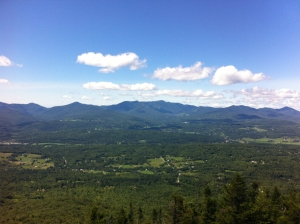 View from the Pinnacle Vermont