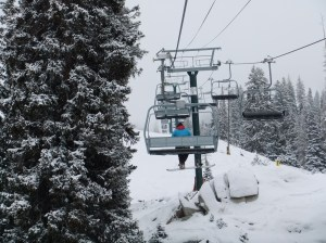 Chairlift at Brighton Ski Resort