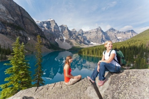 Banff hiking photo.