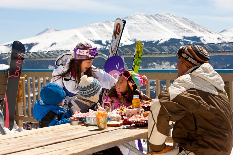 Enjoy lunch in the sun. (Photo Jack Affleck)