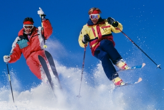 80's ski gear