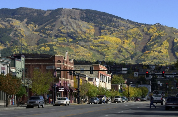 Steamboat_Fall Town