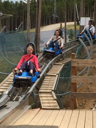 Getting of the Roller Coaster!