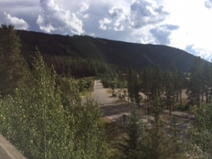 View from my condo at River Run Village – Expedition Station
