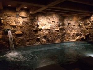 Jacuzzi Grotto in the Spa – Ritz Carlton Bachelor Gulch